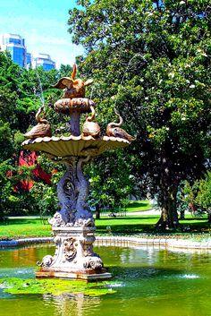 In the park of Beylerbeyi Palace - Istanbul, Turkey
