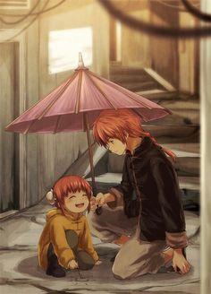 Kamui and Kagura Yato - Gintama