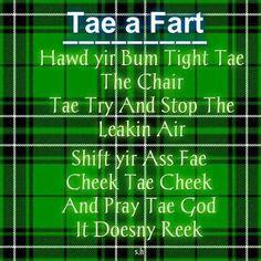Scottish ode to a fart Scottish Poems, Scottish Gaelic, Scottish Sayings, Scottish Toast, Irish Sayings, Scotland Funny, Funny Pictures, Funny Pics, Funny Quotes