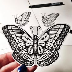 First butterfly that I am actually ok with, Woo!