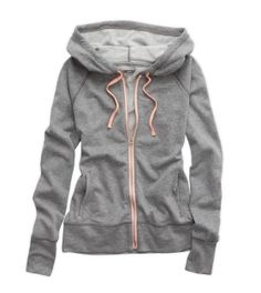 Dark Heather Grey Hooded Sweatshirt - perfect for the gym, yoga, and more!