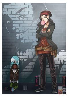 LOK: Graffiti 3 by momofukuu.deviantart.com on @DeviantArt