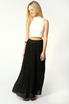 198a8b71ae4 Ideal Black Maxi Skirt   Angelic Black Maxi Skirt Black Maxi Skirt Outfit