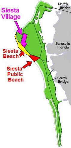 Siesta Key Beaches