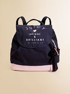 Aria's future school bag! - Juicy Couture Girl's Bright  Brilliant Backpack