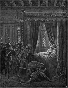Illustrations to Orlando Furioso / Gustave Doré Gustave Dore, Dark Art Photography, Dantes Inferno, Cross Hatching, Art Thou, Wood Engraving, Gothic Art, French Artists, Paris