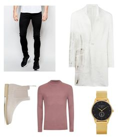 """""""SW Look 3"""" by alialalyawi on Polyvore featuring ISABEL BENENATO, Dr. Denim, Common Projects, Paul Hewitt, Topman, men's fashion and menswear"""