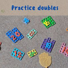 Early Years Maths, Early Math, Numicon Activities, Preschool Activities, Math Doubles, Maths Eyfs, Maths Display, Math Challenge, Math Workshop