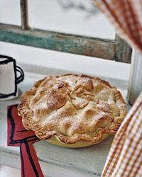"Flaky Pear Pie Recipe on Food & Wine ""I grew up watching my mom make pies,"" says Grant Achatz. ""My father would always envy her amazingly tender and flaky crusts. He is a great cook, but he could never quite make a piecrust like she can. Her crust rules, and I understand now that the secret is finesse, and genetically cold hands."""