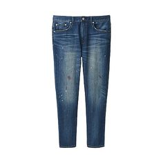 0c3af513 MEN Loose Fit Tapered Jeans Tapered Jeans, Loose Fit, Uniqlo, Skinny Jeans,