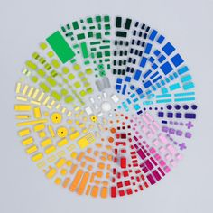 Lego colour wheel