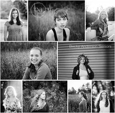 gorgeous black and white images from Kalamazoo senior sessions #baseniors