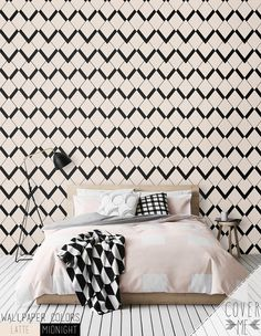 Peel and Stick Diamond Pattern Removable by CoverMEwallpapers