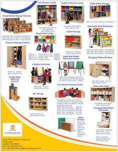 January Sales Flyer | Honor Roll Childcare Supply - Early Education Furniture, Equipment and School Supplies. Mobile Storage, Cubby Storage, Storage Cabinets, Locker Storage, Teacher Storage, Classroom Carpets, Preschool Supplies, Preschool Furniture, Sale Flyer
