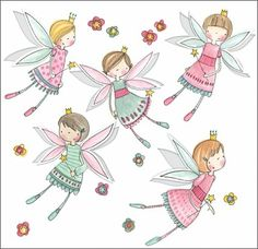 Pretty Little Fairies.  This is such a sweet card for little girls.  The fairies wings pop out, and are all flittery glittery.  £1.50.