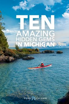 Discover ten of Michigan's most amazing hidden travel treasures and off-the-beaten path gems that are often overlooked by travelers. Vacation Places, Vacation Destinations, Dream Vacations, Vacation Spots, Places To Travel, Vacation Ideas, Michigan Vacations, Michigan Travel, Travel With Kids