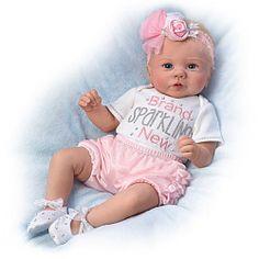 Kaylie's Brand Sparkling New Baby Doll - Realistic Baby Dolls