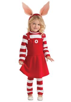 Toddler Olivia Costume. k would have loved this last year!
