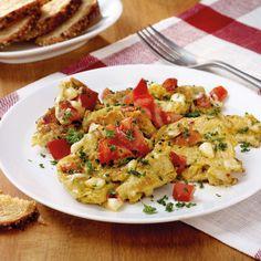 Tomaten-Käse-Rührei Rezept | Weight Watchers