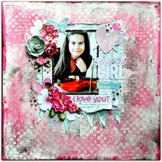 Scraps of Elegance: Raindrops On Roses kit layout by Bente! http://scrapsofdarkness.blogspot.com
