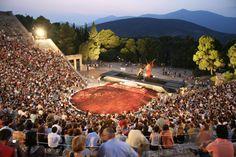 Epidaurus Festival at the ancient theater #outdoorsgr