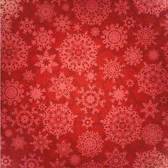 e9c1a8de38 Christmas Fun Red Snowflakes 12 x 12 Paper ( 1.05) ❤ liked on Polyvore  featuring
