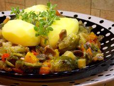 Gotowanie jest łatwe: Gulasz z drobiowych żołądków i serc
