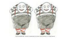 imagination - tim burton art - the tweedles