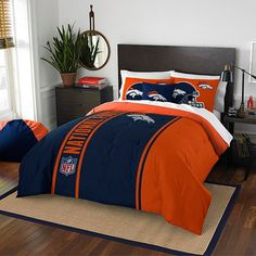 NFL Denver Broncos Bedding - BedBathandBeyond.com