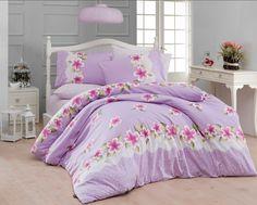 Lenjerie de pat Ranforce Liva V4 #homedecor #interiordesign #inspiration #decoration #pink #flowers #bedsheets #beddingset Duvet, Bedding, Comforters, Blanket, Decoration, Inspiration, Down Comforter, Creature Comforts, Decor