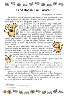 Clasa I : Lecturi de vacanţă clasa I Alphabet Worksheets, Preschool Worksheets, Preschool Activities, Kids Routine Chart, Romanian Language, 4 Kids, Children, Preschool At Home, School Games