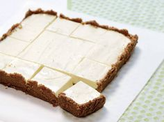 Frozen Key Lime Bars - End a rich meal with a cool, refreshing dessert that can also be a wonderful palate cleanser.