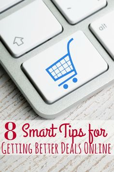 8 Ways to Save BIG when shopping online - Shopping online? STOP! Don't buy a single thing until you check out this post! These 8 smart tips for getting better deals online will help you save BIG!