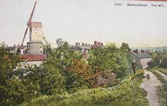 SAXMUNDHAM WINDMILL SUFFOLK c1905 PC | eBay