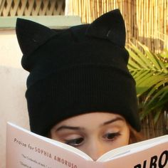 DIY Cat Beanie