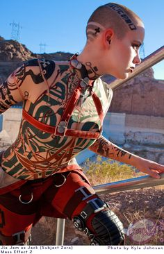 Jack cosplay, Mass Effect 2