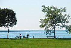 Take a bike ride on Milwaukee's scenic lakefront