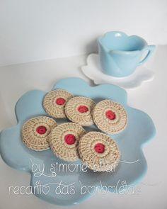 <3 Buttered Jelly Amigurumi...Hummmmmmmm, delícia! :p Vem saber sobre eles aqui: http://recantodasborboletas-simoninha.blogspot.com.br/