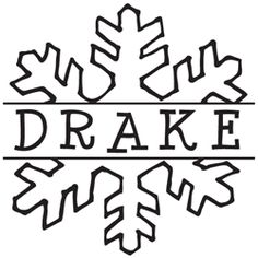Our Drake Snowflake Monogram Stamp comes with color options to add your own personal touch! Make your customized mark on envelopes, invitations, letters, and more!