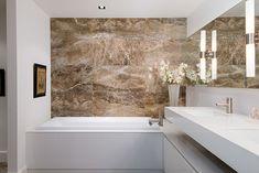 Marble in the Bathroom -- #InteriorDesign .. Vancouver Condo by Lee Luxford Architecture+Design