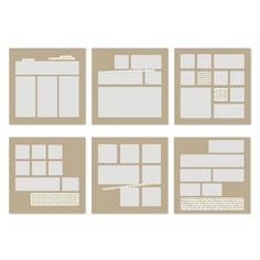 Check This Out Designer Page Templates -- Digital Download
