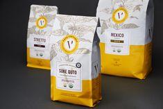 Cafe Virtuoso Coffee Packaging — The Dieline - Branding & Packaging Design