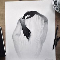Best Inspiration Art Drawing – My Life Spot Pencil Art Drawings, Art Drawings Sketches, Easy Drawings, Drawings Of Hands, Tumblr Art Drawings, Summer Drawings, Illustration Art Drawing, Sketch Art, Art Inspiration Drawing