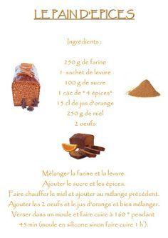 La maternelle de Laurène: Le pain d'épices