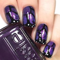 Today I am back with The Nail Art Squad for a purple butterfly mani in honor of Epidermolysis Bullosa Disease Awareness