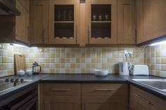 Fully equipped kitchen at Eastgate Apartment