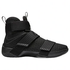size 40 90da8 3ff8b Nike Lebron Soldier 10 Mens Hi Top Basketball Trainers 844374 Sneakers  Shoes (US black black
