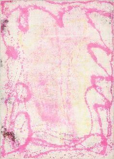 Pink Ultra Vintage Area Rug