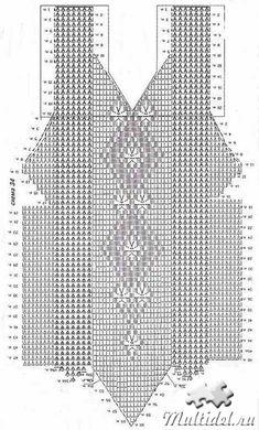 Crochet Bookmark Pattern, Crochet Bikini Pattern, Crochet Cardigan Pattern, Crochet Diagram, Crochet Blouse, Crochet Chart, Thread Crochet, Filet Crochet, Crochet Lace