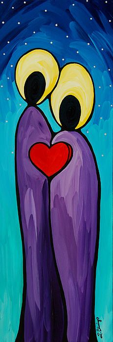 As One Painting by Sharon Cummings - As One Fine Art Prints and Posters for Sale